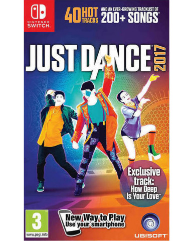 JUST DANCE 2017 - NINTENDO SWITCH GAME