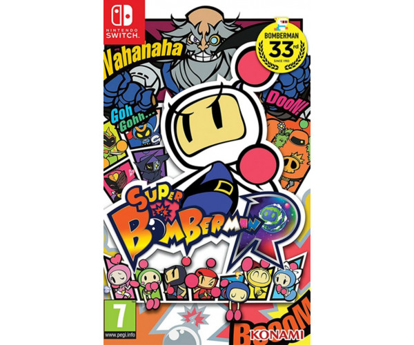 SUPER BOMBERMAN R - NINTENDO SWITCH GAME