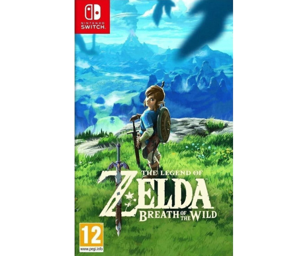THE LEGEND OF ZELDA : BREATH OF THE WILD - NINTENDO SWITCH GAME