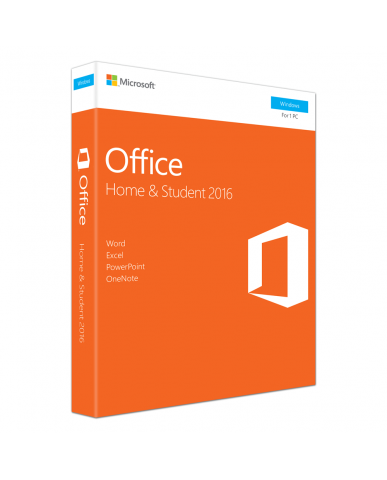 Microsoft Office Home & Student 2016 για Windows MEDIALESS P2 -  ENG PKC
