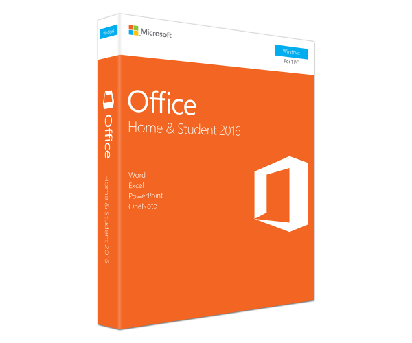 Microsoft Office Home & Student 2016 για Windows MEDIALESS P2 -  ENG PKC