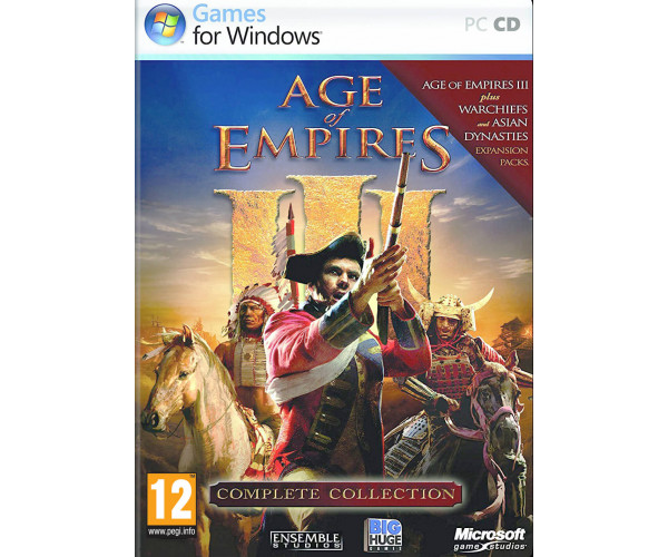 AGE OF EMPIRES III COMPLETE COLLECTION - PC GAME