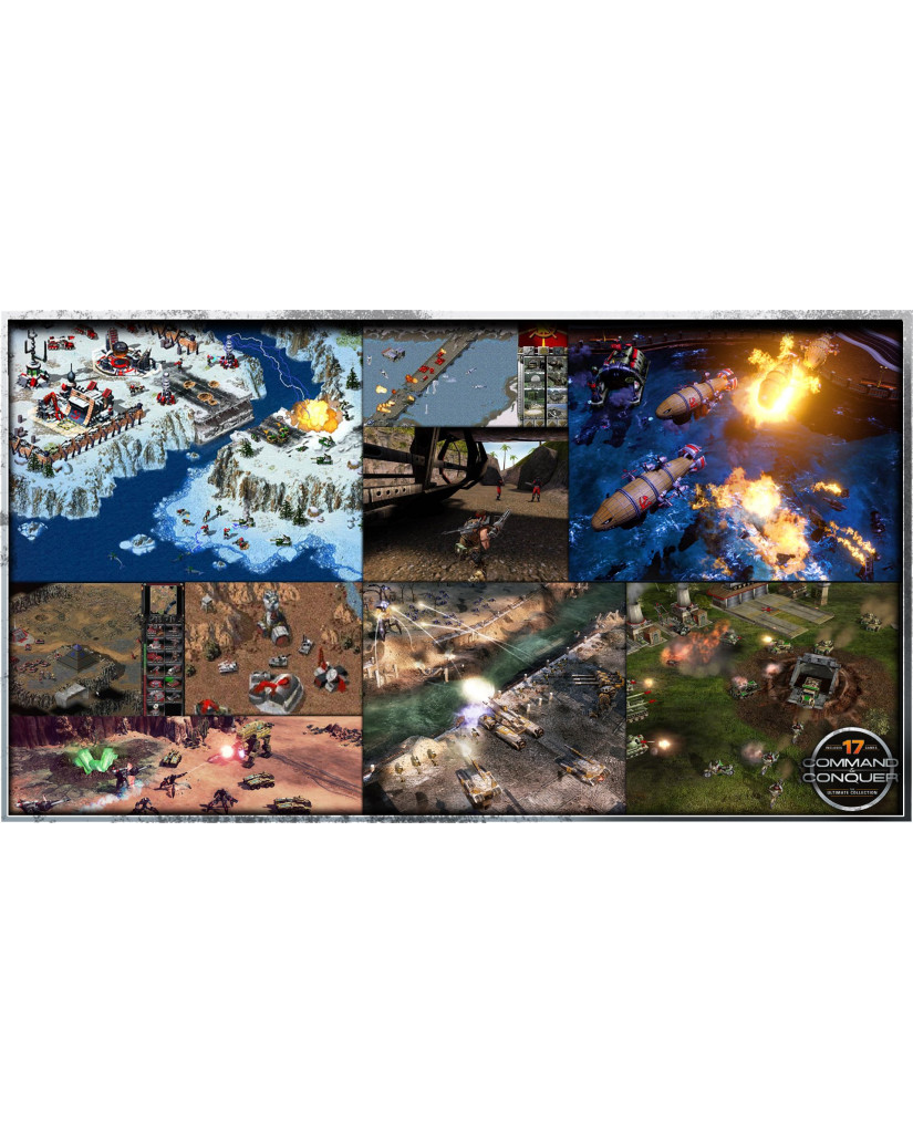COMMAND AND CONQUER THE ULTIMATE COLLECTION - PC GAME