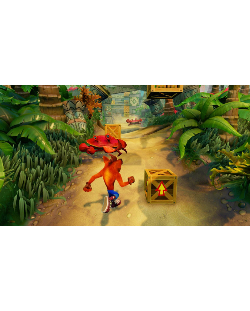 CRASH BANDICOOT N. SANE TRILOGY (CODE IN BOX) - PC GAME