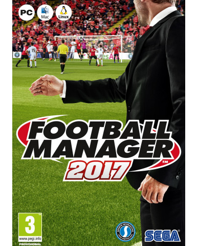 FOOTBALL MANAGER 2017 - PC GAME