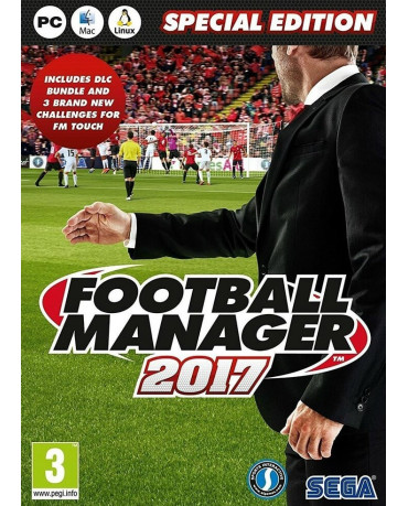 FOOTBALL MANAGER 2017 LIMITED EDITION - PC GAME