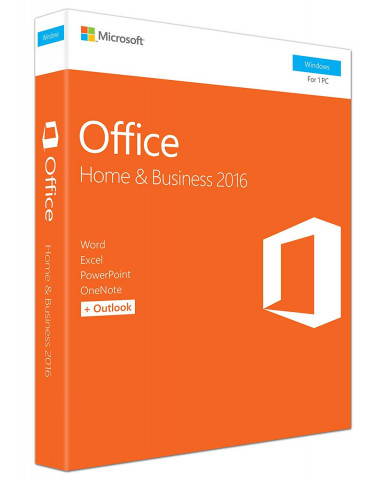 Microsoft Office Home & Business P2 2016 Eng PKC T5D-02826