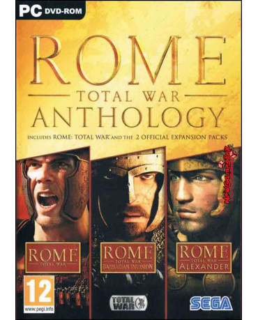ROME TOTAL WAR ANTHOLOGY – PC GAME
