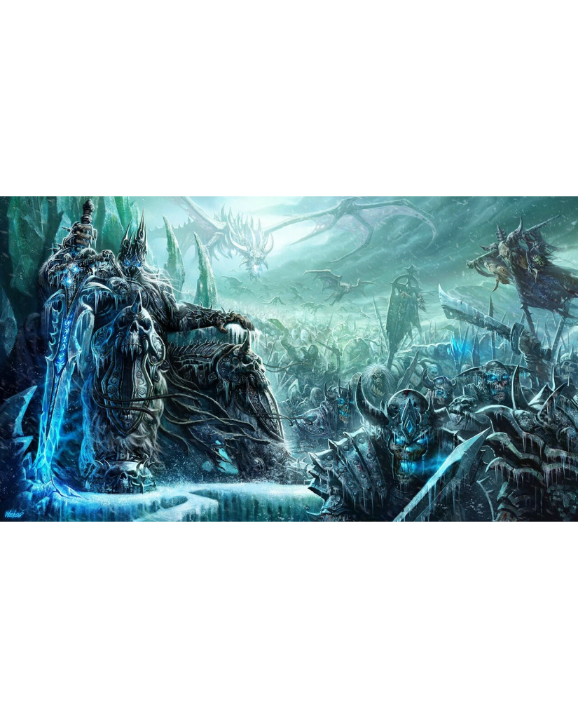 WORLD OF WARCRAFT WRATH OF THE LICH KING - PC GAME