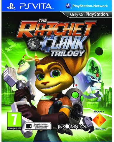 RATCHET & CLANK HD TRILOGY COLLECTION - PS VITA GAME