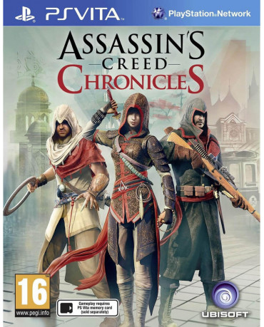 ASSASSIN'S CREED CHRONICLES PACK - PS VITA GAME