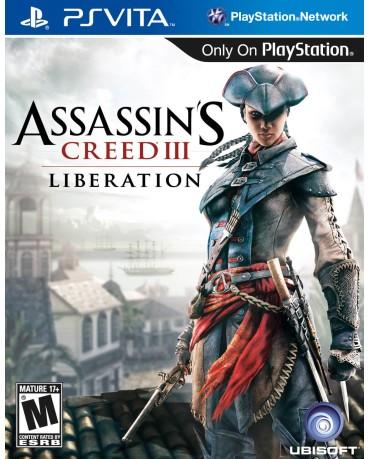 ASSASSIN'S CREED III LIBERATION – PS VITA GAME