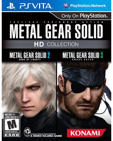 METAL GEAR SOLID HD COLLECTION - PS VITA GAME