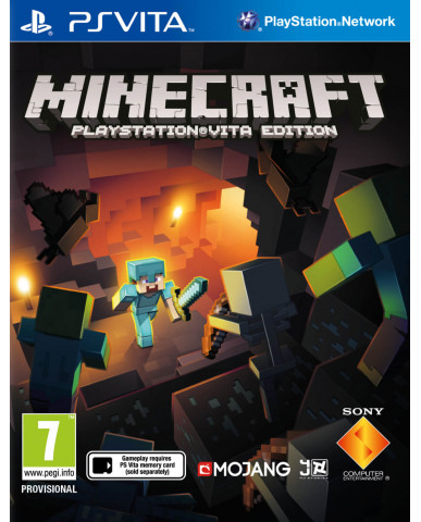 MINECRAFT PLAYSTATION VITA EDITION - PS VITA GAME