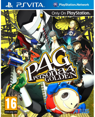 PERSONA 4 THE GOLDEN - PSVITA GAME