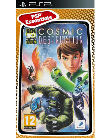 BEN 10 ULTIMATE ALIEN: COSMIC DESTRUCTION ESSENTIALS - PSP GAME