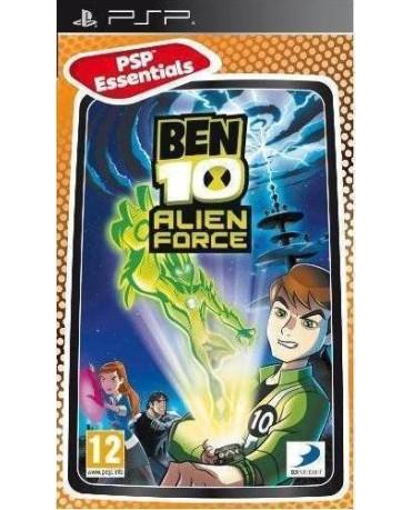 BEN 10 ALIEN FORCE ESSENTIALS - PSP GAME