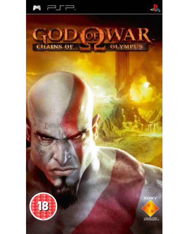 GOD OF WAR CHAINS OF OLYMPUS DISC ONLY – PSP GAME
