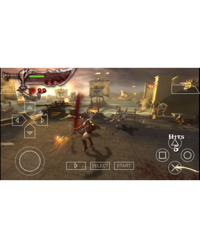 GOD OF WAR CHAINS OF OLYMPUS ESSENTIALS – PSP GAME