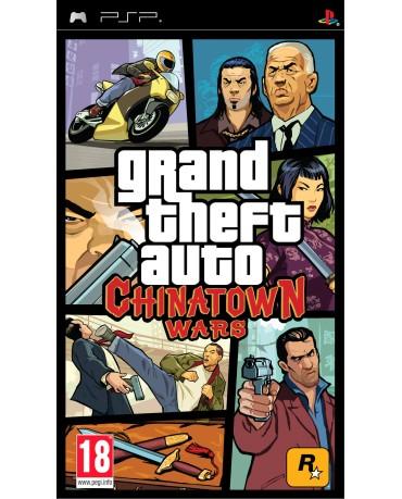 GRAND THEFT AUTO CHINATOWN WARS - PSP GAME