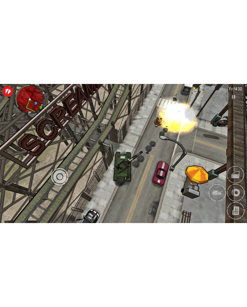 GRAND THEFT AUTO CHINATOWN WARS - PSP GAME