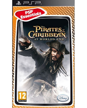 PIRATES OF THE CARIBBEAN: AT WORLD'S END ESSENTIALS – PSP GAME