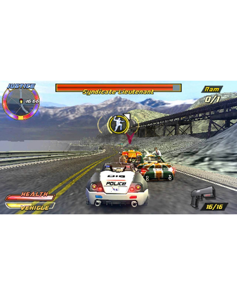 PURSUIT FORCE EXTREME JUSTICE – PSP GAME