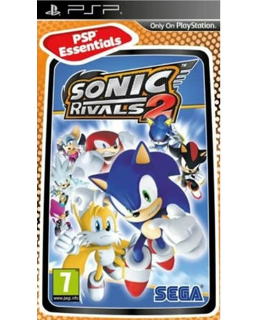 SONIC RIVALS 2 ESSENTIALS - PSP GAME