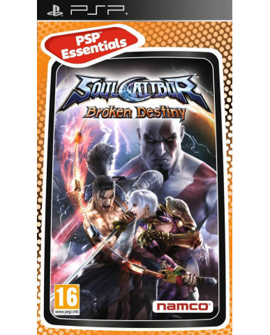SOUL CALIBUR BROKEN DESTINY ESSENTIALS NO MANUAL – PSP GAME
