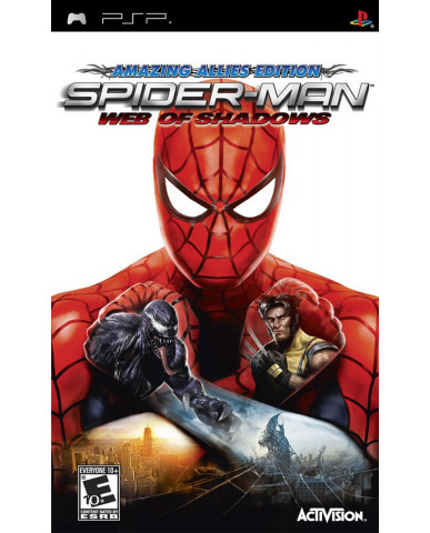 SPIDER-MAN WEB OF SHADOWS AMAZING ALLIES EDITION - PSP GAME