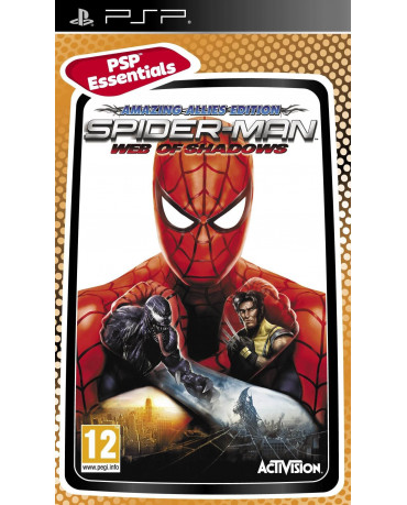 SPIDER-MAN WEB OF SHADOWS AMAZING ALLIES EDITION ESSENTIALS ΜΕΤΑΧ. - PSP GAME