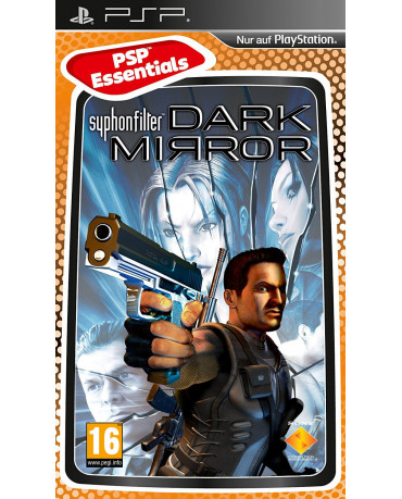 SYPHON FILTER DARK MIRROR ESSENTIALS NO MANUAL – PSP GAME
