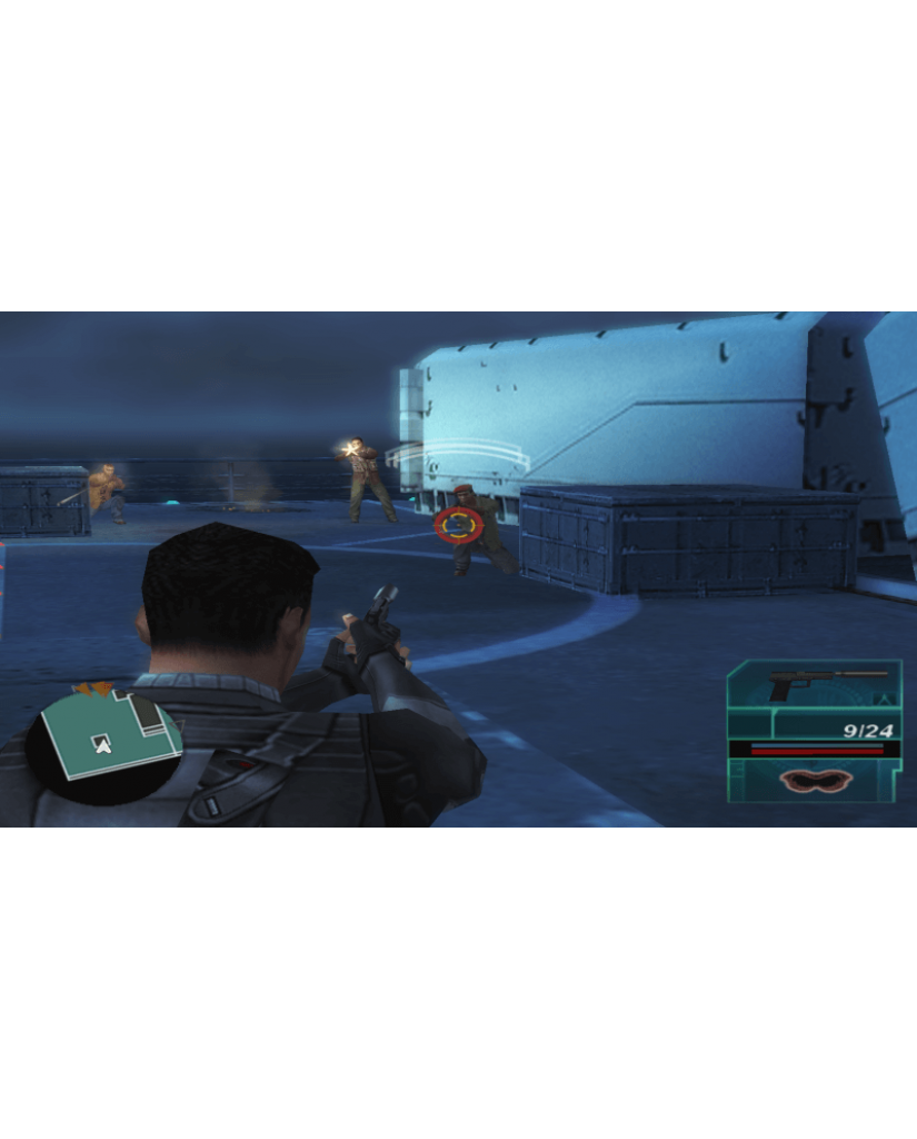 SYPHON FILTER LOGAN'S SHADOW ESSENTIALS - PSP GAME