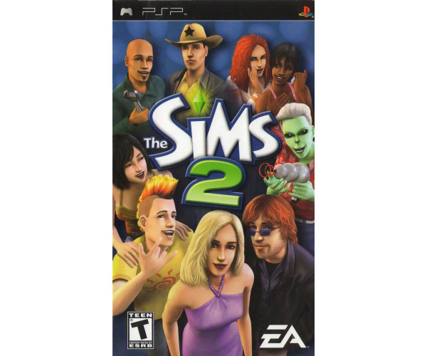 THE SIMS 2 DISC ONLY - PSP GAME