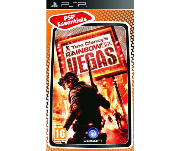 TOM CLANCY'S RAINBOW SIX: VEGAS ESSENTIALS - PSP GAME