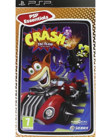 CRASH TAG TEAM RACING ESSENTIALS - PSP GAME