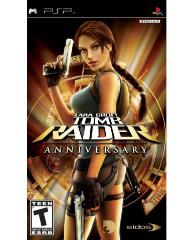 TOMB RAIDER ANNIVERSARY METAX. - PSP GAME