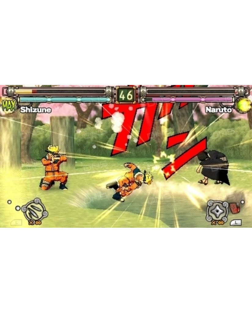 NARUTO ULTIMATE NINJA HEROES 2 ESSENTIALS ΜΕΤΑΧ. - PSP GAME