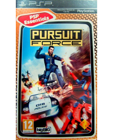 PURSUIT FORCE ESSENTIALS - PSP GAME