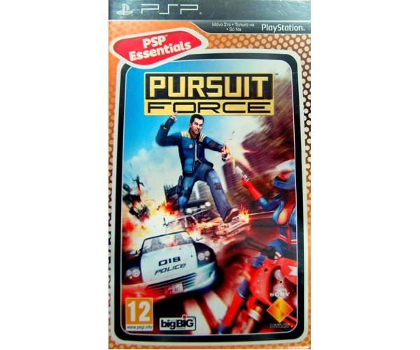 PURSUIT FORCE ESSENTIALS - PSP GAME