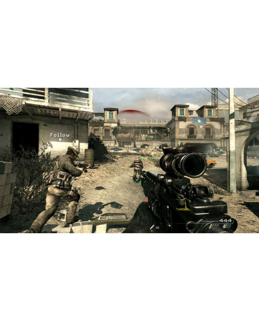 CALL OF DUTY MODERN WARFARE 3  – WII GAME