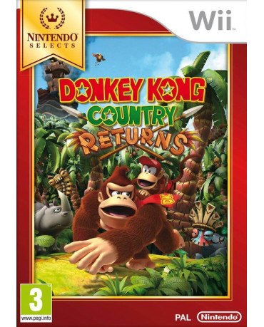 DONKEY KONG COUNTRY RETURNS SELECTS - WII GAME