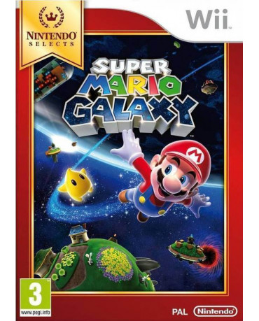 SUPER MARIO GALAXY SELECTS - WII GAME