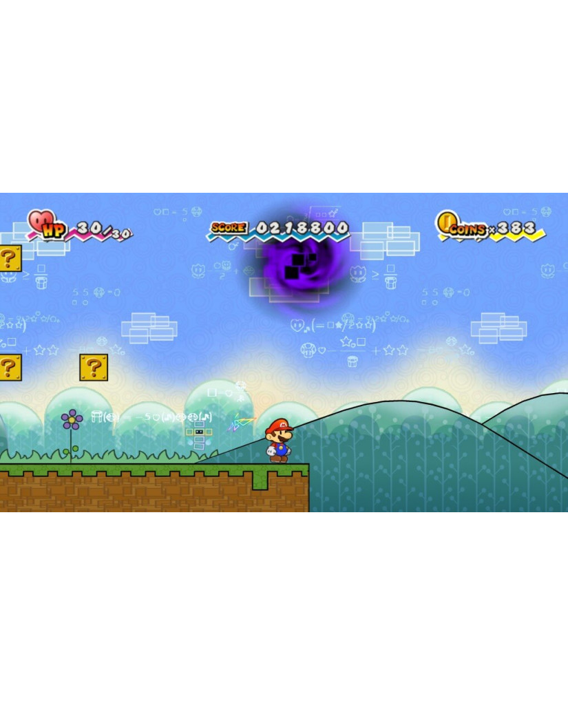 SUPER PAPER MARIO SELECTS - WII GAME