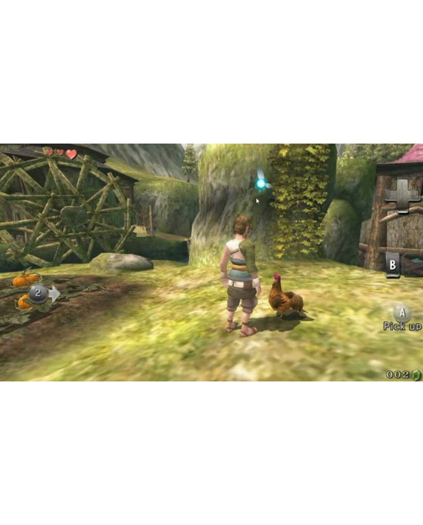 THE LEGEND OF ZELDA TWILIGHT PRINCESS SELECTS - WII GAME