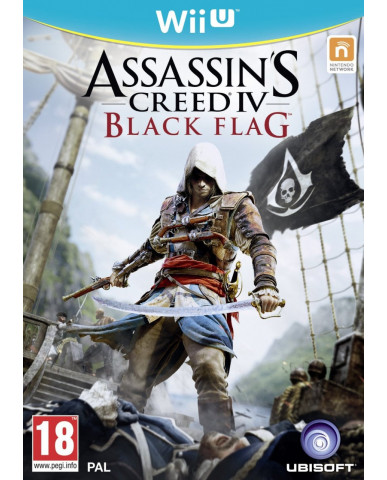ASSASSIN'S CREED IV: BLACK FLAG - WII U GAME