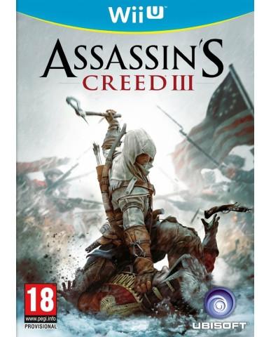 ASSASSIN'S CREED III - WII U GAME