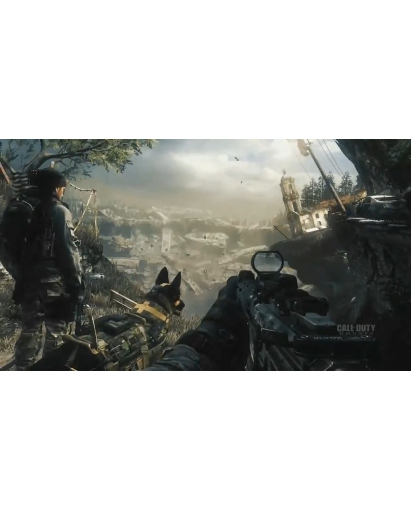 CALL OF DUTY GHOSTS - WII U GAME