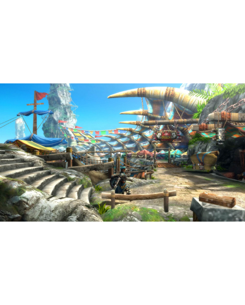 MONSTER HUNTER 3 ULTIMATE - WII U GAME