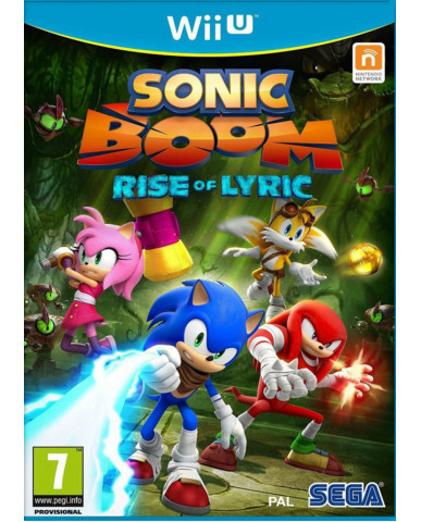 SONIC BOOM RISE OF LYRIC – WII U GAME